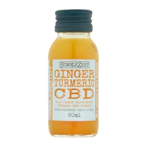 Bumblezest Ginger, Turmeric and CBD Drink