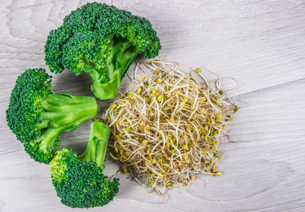 Benefits of broccoli sprouts