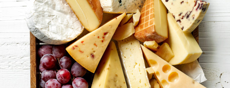 different types of cheese