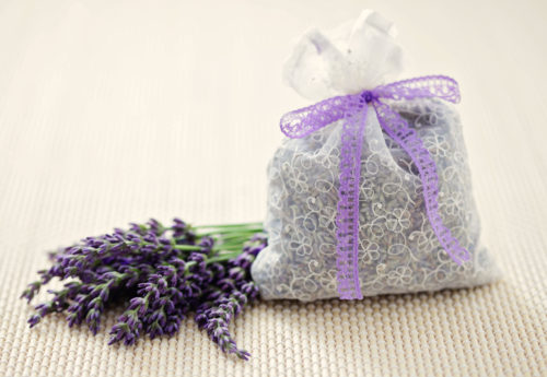 DIY eco-friendly scented sachets