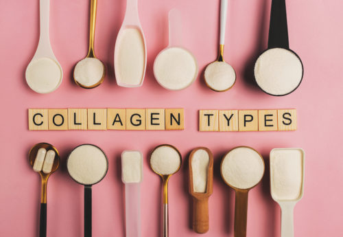 What are the different types of collagen?