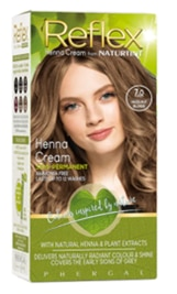 A box of Naturtint Reflex Semi-Permanent Hair Colour in the shade, Hazelnut Blonde (90ml)