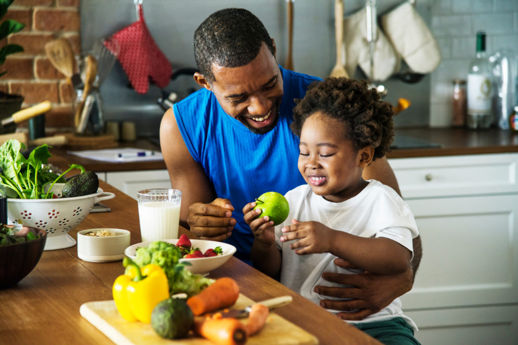 The benefits of healthy eating