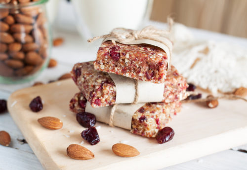 The benefits of making your own protein bars – and two easy recipes