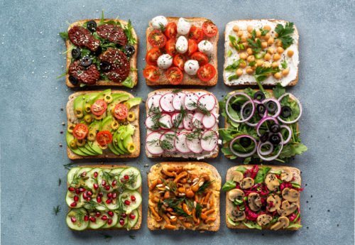 Vegan sandwich filling ideas